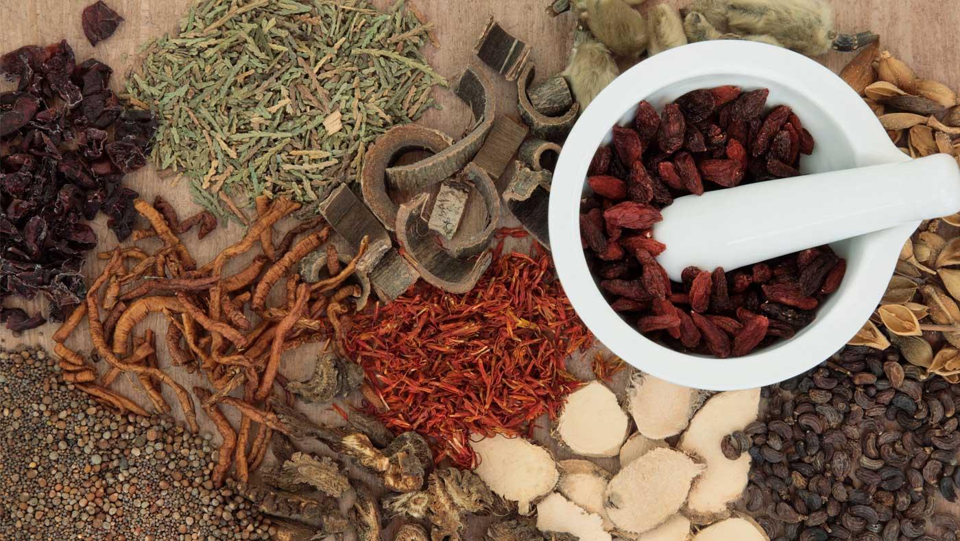 raw chinese herbal medicine