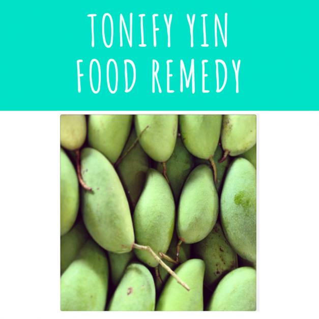 Tonify Yin