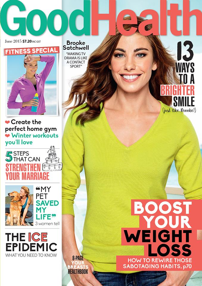 Good Health magazine cover