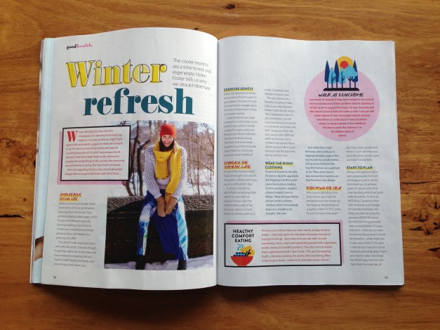 Winter refresh Goof Health Magazine