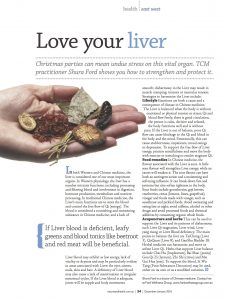 Love your Liver with Chinese medicine