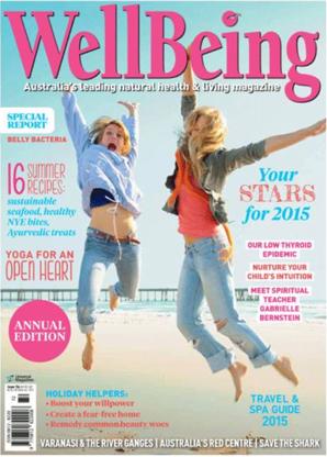 Wellbeing magazine Australia cover